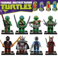 plastic building blocks toys - Ninja Turtles Best Children Gift Baby Toys SY176 Plastic education Building Block Set Christmas Gifts no box