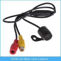 Compra Reserva de la cámara de color cmos-E306 18mm Color CMOS / CCD impermeable vehículo Auto coche Cámara de visión trasera Cámara de marcha atrás Rearview para seguridad de copia de seguridad de aparcamiento C244 A2