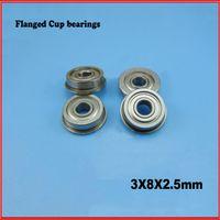Wholesale MF83ZZ flange bushing ball bearings mm bearing open