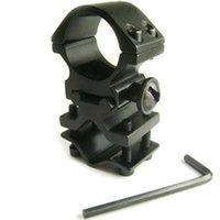 barrel mounted laser - Aluminum Alloy Matte Black Action Tactical Flashlight Laser Torch Surefire Barrel quot Mount L0353 SUP5