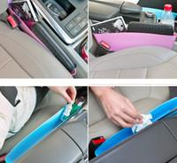 Wholesale New Car Auto Accessories Seat Seam Storage Box Bag Phone Holder Organizer Auto Car Vehicle Storage