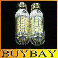 Wholesale New arrival LEDS SMD5730 E27 E14 G9 GU10 LED V V W LED bulb lamp Warm white white Corn Light chandelier