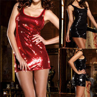 Wholesale New Arrivals Women s Lady s Sexy Lingerie Negligee Nightdress Sleepwear Skirt Underwear Sequin Acrylic IG204