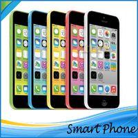 Wholesale Refurbished iPhone5C Unlocked Cell phones Apple iPhone C iPhone C Inch IPS Capacitive Screen pixels Renew iPhone5C