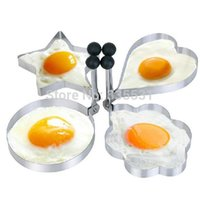 Wholesale Kitchen Tool Stainless Steel Pancake Mold Ring Cooking Fried Egg Shaper K5BO