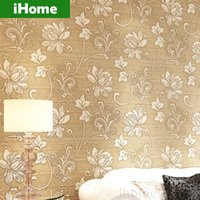 Wholesale Non Woven D Wall Coverings Floral Luxury Modern Natural Material Wallpapers Pattern Wallpaper For Walls Living Room D Tapeten