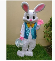 easter bunny costumes - PROFESSIONAL EASTER BUNNY MASCOT COSTUME Bugs Rabbit Hare Adult Fancy Dress Cartoon Suit