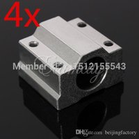 Wholesale 4pcs SC8UU SCS8UU mm Linear Motion Ball Bearing Slide Bushing Linear Shaft for CNC A2