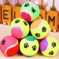 Wholesale Dog Toy Ball Playing Tennis Training Sparring Dog Trainings Pet Products Classic Toys Color Random Drop shipping