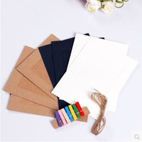 Wholesale Big discount set inches DIY Suspend Type Paper Frame Photo Wall With Hemp Rope and Clip Wedding Decoration