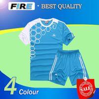 blank football jersey - Best Quality Blank soocer jerseys Uniforms yellow blue red Maillot de foot Football Shirts