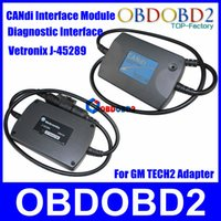 Wholesale Newly CANdi Interface Adapter Module For GM Tech2 Vetronix J Diagnostic Interface CNP Free