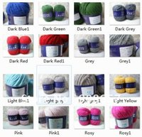 alpaca wool sweaters - 4 g Skeins Alpaca Wool scarf sweater yarns for Knitting Wrosted Bulky g with Red Black Purple Yellow Orange etc