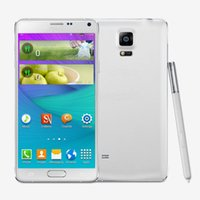 Wholesale 5 inch Note Four G9800 MTK6582 Quad Core Android4 G GB G GPS Single SIM Micro Dual Camera MP Unlocked Phone