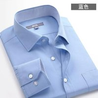 Wholesale Cheap High quality The latest high quality men s shirts luxury business shirt Slim sizes