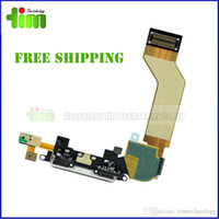 Anti-static Packaging - Dock Charger Charging Port Flex Cable For IPhone s anti static bags with foam box Package Top Quality Dock Connector Replacement