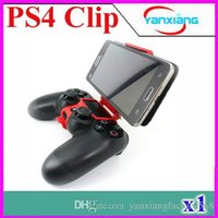 Wholesale 2015 New Arrival Smart Clip for DualShock controller for ps4 joystick and mobile phone holder with Retail Box PC ZY JZ