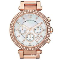 Wholesale Fashion Golden Watches Women Luxury Diamond Quartz Stainless Steel Watch Calendar Dial Gold Rose gold Silver