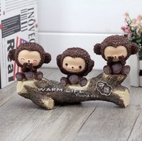 animal stake - Clearly a cartoon monkey monkey stakes holiday gifts New Year gift Home Furnishing ornaments