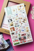 Wholesale Pack South Korea Sent Straight SONIA Hot Foil Paper Plane Stray Cat Diary