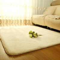 Wholesale Super soft comfortable silk wool floor Thickening non slip door mats Entryway Area Rug ZH183