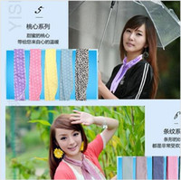 Wholesale 2015 LADY Cool Water band wristBand armband speed to Cool Towel Cooling Scarf Ties Neck Scarf headband ice Belt beach sarongs TOB3233