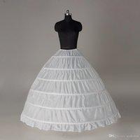 hoop skirts - Hoop Skirt Crinoline Petticoats Ball Gown Wedding White Black Bridal Accessories Underskirt Hoops Pannier In Stock