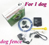 Wholesale 5pcs D New Dog pet Rechargeable Pet Containment Fence System Dog IN GROUND KIT Electronic Fencing system w D