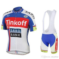 Cheap 2015 tour de france tinkoff saxo bank champion Cycling Jerseys Quick Dry short sleeves Cycling jerseys size XS-4XL red white blue color