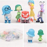 Wholesale Inside Out PVC Action Figures Action Figure Toys set Dolls for Children