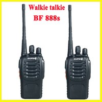 Wholesale Dual Band Two Way Radio Baofeng BF S Walkie Talkie W Handheld Baofeng MHz UHF VHF Radio Scanner Channel With Retail Package