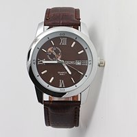 Cheap Leisure fashion luxury brands in 2014 a man quartz clock movement watch military watches free shipping