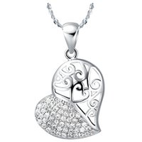 big heart times - 2015 Time limited Sale Women s Big Crystal Necklace Women Accessories Stone Heart Love Necklaces Pendants Colares Femininos Jewelery N586