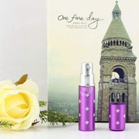 Wholesale Perfume Atomizer Bottle Amazing Travel Refillable Spray Empty Easy Used Portable Top Quality Free DHL Factory Direct