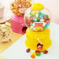 Wholesale Creative twist candy machine mini storage box plastic children s money boxes funny money bank green blue