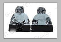 Wholesale 10pcs Fashion Women Winter Warm Ski Chunky Ribbed Button Bobble Hat Beanie ON SALE good quality USA