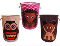 animal bin - Cartoon Animal storage bins storage case Easter Baskets organizer Iron case storage container