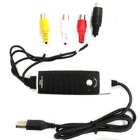 audio dvd maker - USB PC Transfer AV VHS Audio Grabber Capture video Card DVD DVR Maker Adapter with Snapshot Button AS CCTV