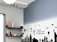 Wholesale AY9214 DIY Creative Living Room Sofa Removable Decal Room Wall Sticker Vinyl Art Home Decor