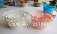 bakery supplies boxes - birthday gifts Happy Birthday cake baking supplies laser cutting Cupcake Wrapper bakery boxes