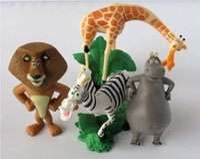 alex toys - Cheap Madagascar Alex Marty Playset set Figure Cake Topper PVC Action Figures Toys Dolls Kids Gifts VIP Seller