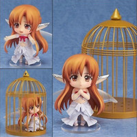 adult tv online - Hotsell cm japanese anime figures Cute Nendoroid Sword Art Online Birdcage Asuna dolls Collectible Model adult toy