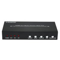 audio viewer - HDS P HDMI Splitter Video Audio Division Multi Viewer w PIP Two Input One output HDMI Port for PC DVD Player to HDTV order lt no t