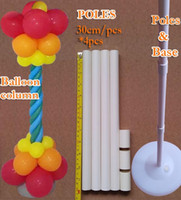 base toy - Wedding decorations Balloon column base Plastic poles Latex balloons Bulk sale Event party supplies Garden decor classic toys