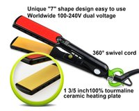 aluminum heating element - Hair Strightening Irons Heating Element And Dual Voltage Available Hair Straightener Plate Ceramic Electronic Styling Tools