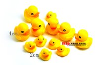 Cheap free shipping 24pcs lot mini yellow duck action figure pvc toys,Rubber Duck mini collection figure doll toys
