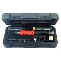 arrival soldering irons - New Arrival High Quality HS K in Gas Soldering Iron Cordless Welding Torch Tool Kit
