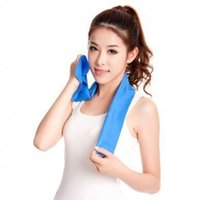 Wholesale new Neck Cooling Scarf Cooler Towel Cooling Headband Ice towel PVA Chamois Towel
