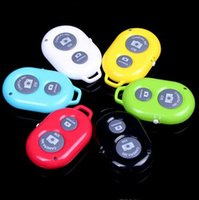 Wholesale Bluetooth Remote Camera Control Self timer Release Shutter for Galaxy S5 i9600 S4 S3 Note Apple iphone s ipad Taking Pictures