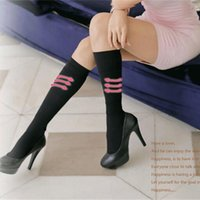 Wholesale Fast shipping Gorgeous High quality sexy pure black fat burning leg socks Anti varicose socks Stovepipe socks leg shaper